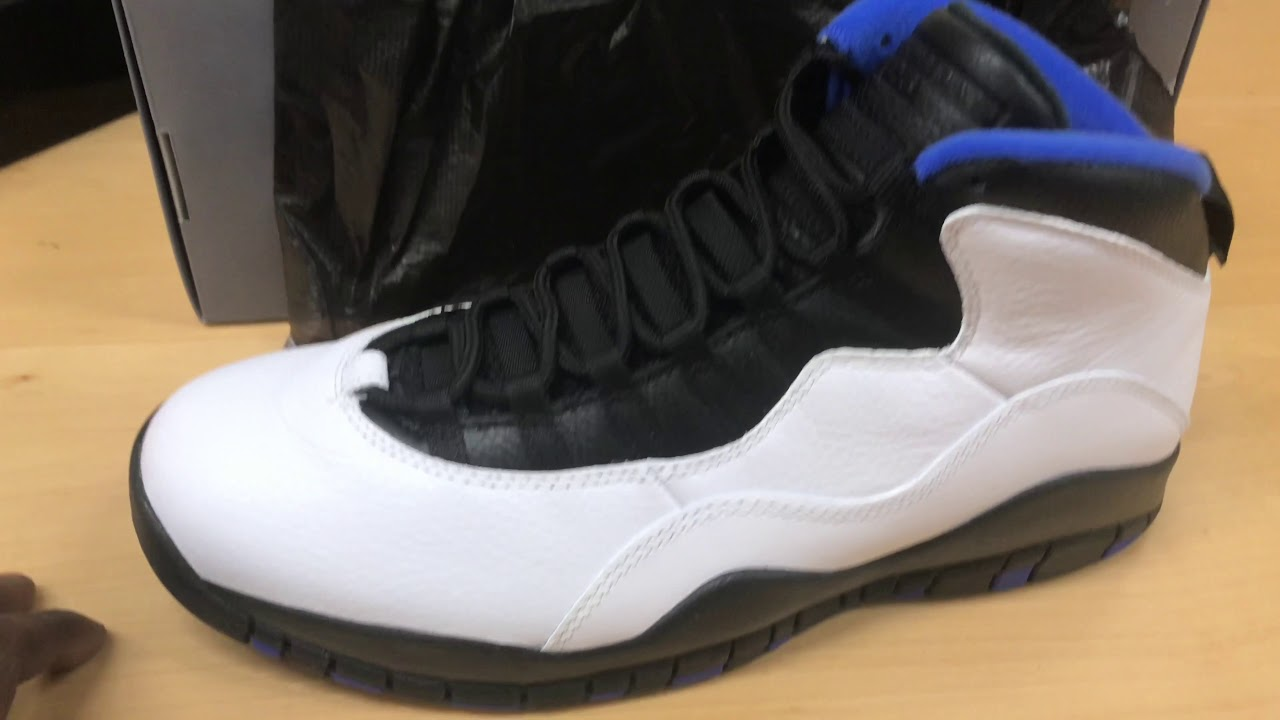 "Air Jordan Retro 10 ""Orlando"" Unboxing And Review - YouTube dac03fea9"