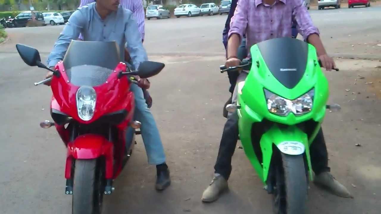 Kawasaki Ninja 250r Vs Hyosung Gt250r Exhaust Sound Youtube