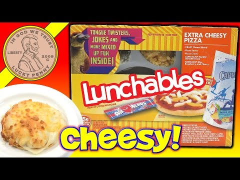 Lunchables Extra Cheesy Pizza Kids Lunchroom Snack Food