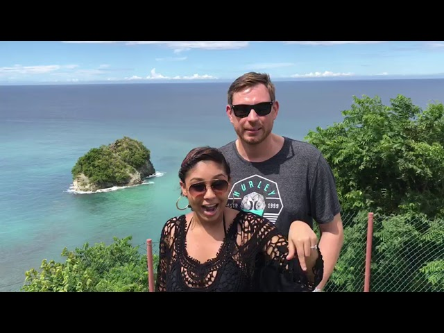 Island Girl Tours Testimonial from Newlyweds Chelsea and Nick