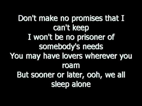 cher - we all sleep alone lyrics