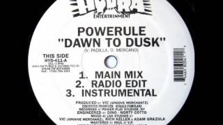 Powerule - Dawn To Dusk (1995)