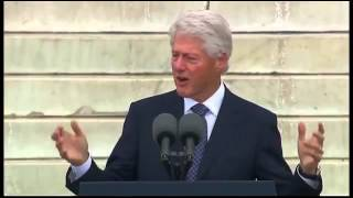 ▶ President Bill Clinton Delivers Freedom Speech at 50th Anniversary of the March on Washingto