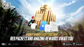 PUBG MOBILE Red Packets - A Chance to Win Amazing Rewards!