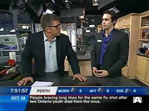IRIS Ottawa store opening  A-Channel Morning appearance on Oct. 28, 2009