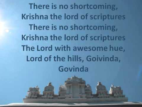 Kurai Ondrumillai ♫ Song by Rajaji ♫ Rendered by Haricharan ♫ Featuring SV Temple, Pittsburgh, PA