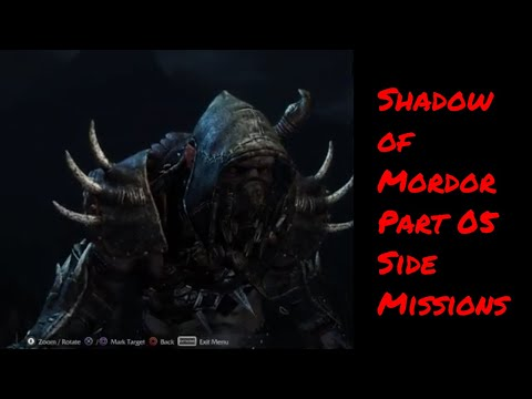 Middle Earth Shadow of Mordor Gameplay - Game of the Year Edition   Part 05   Shadow of Mordor  