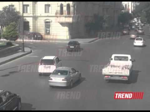 В Баку произошло ДТП с...