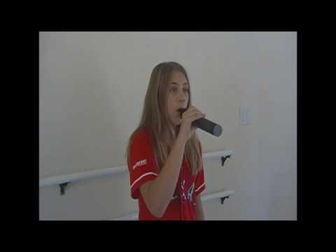 Hannah Blake Texas Rangers Audition