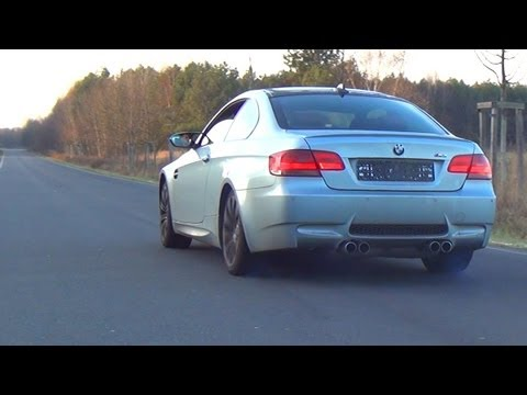 BMW M3 E92 Revving Sound + Acceleration Kickdown Exhaust V8 Beschleunigung Vollgas Full Throttle