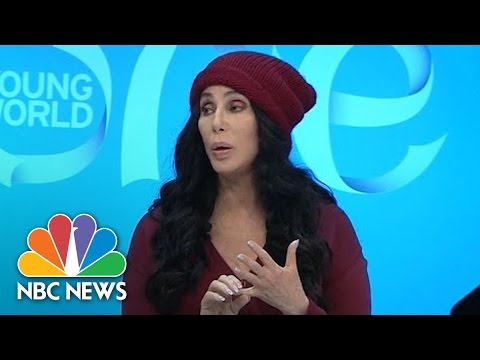 Cher Calls Donald Trump 'Dangerous,' Says Hillary Clinton 'Screwed Up' | NBC News