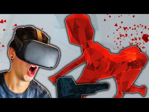 WELL THIS GOT WEIRD... (SUPERHOT VR) |
