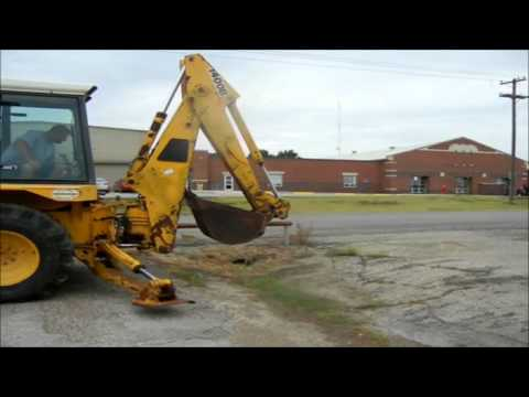 1986 JCB 1400B backhoe for sale | sold at auction September 11, 2012