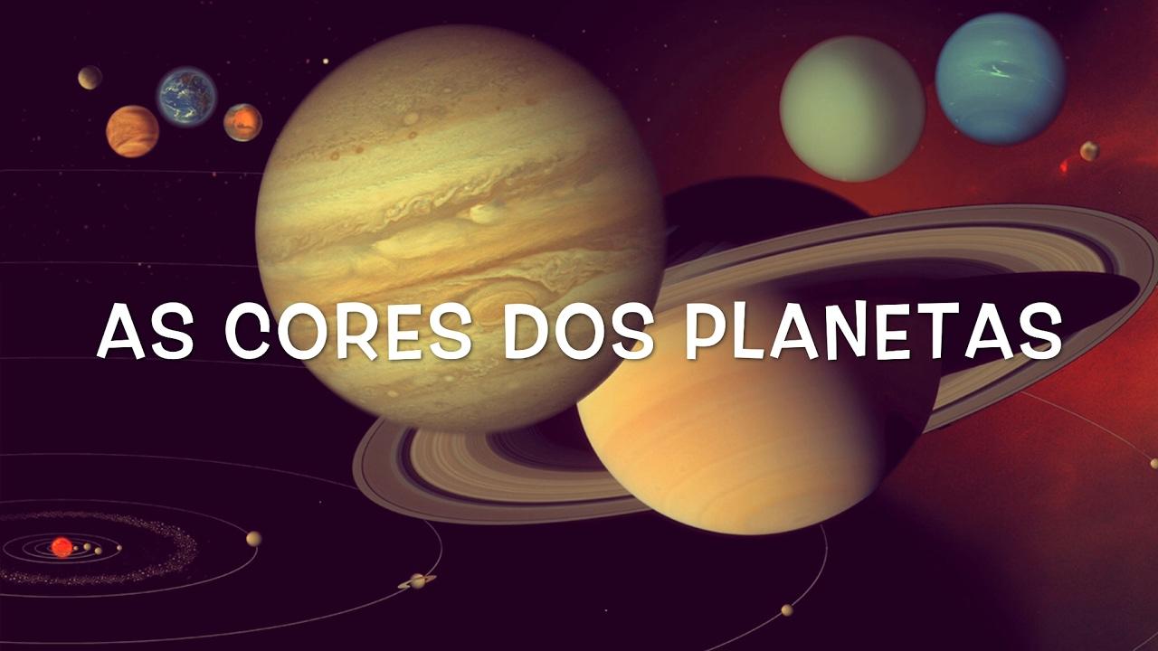 Suficiente As cores dos planetas do Sistema Solar - YouTube UM28