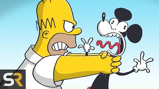 Download 15 Times The Simpsons Dissed Disney Mp3 and Videos