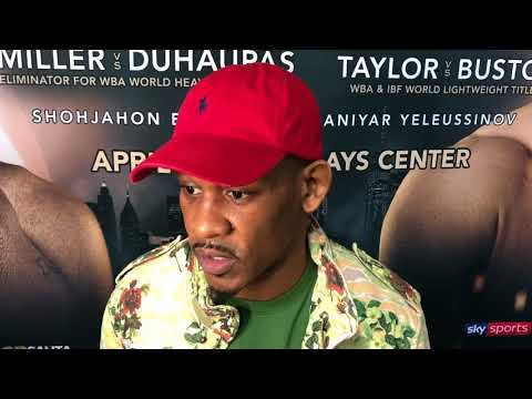 DANNY JACOBS TALKS CHARLO ALTERCATION AND UPCOMING FIGHT