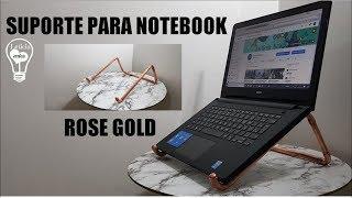 Faça Você Mesmo – Suporte de Cobre para Notebook