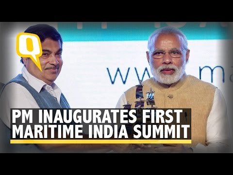 The Quint: PM Inaugurates first-ever Maritime India Summit