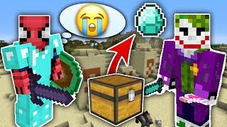 ZENGİN VS FAKİR ÖRÜMCEK ADAM #30 - Zengin'in Elmasları Çalındı (Minecraft) Video