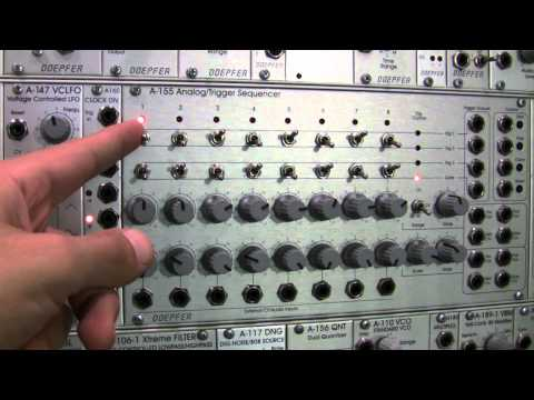Doepfer A155 Analog/Trigger Sequencer Basics