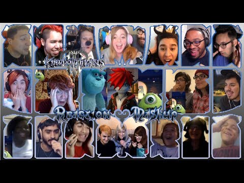 Kingdom Hearts III Monsters, Inc. Reveal Trailer (D23 Expo Japan 2018) Reaction Mashup