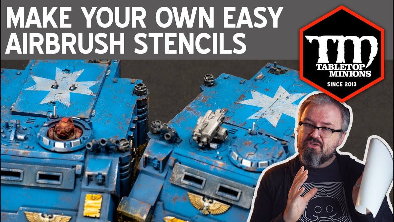 Make Your Own Easy Airbrush Stencils