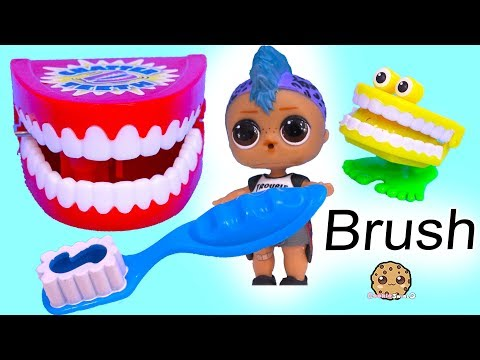 Brush Your Teeth ! Tooth Cavity Attack With LOL Suprise Punk Boi Boy - Video