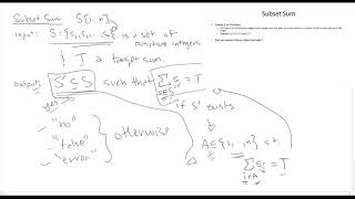Subset Sum - 2D Dynamic Programming - Design and Analysis of Algorithms