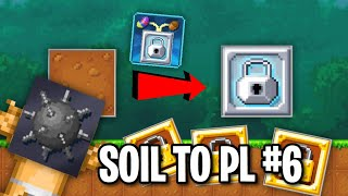 SPIKE BOMBS & WLS! | Soil To Platinum Lock #6 | Pixel Worlds