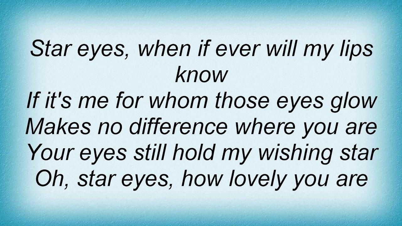 Sarah vaughan star eyes lyrics youtube sarah vaughan star eyes lyrics stopboris Gallery