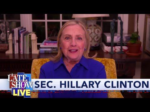"Sec. Hillary Rodham Clinton Warns Joe Biden That Trump Is Someone Who ""Lies With Impunity"""