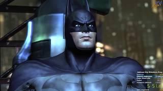 Batman: Arkham City easy glitchless w/cat speedrun in 1:46:50 (PB)