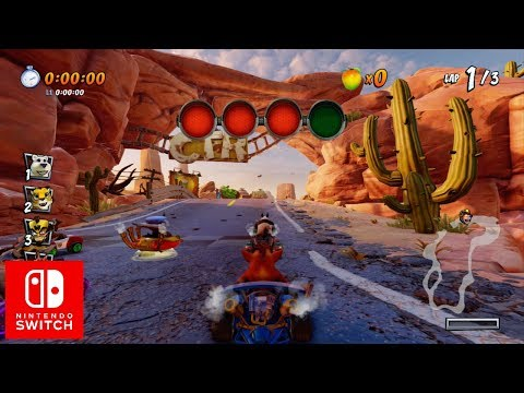 Crash Team Racing Nitro-Fueled Nintendo Switch Gameplay (1080p60HD)