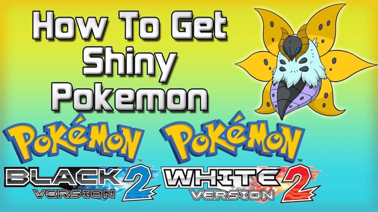 pokemon black how to get shiny pokemon without cheats