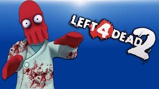 Zoidberg Returns! Ep.2 (Left 4 Dead 2 Funny Moments and Mods)