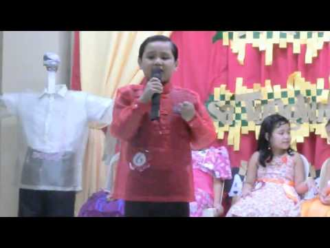 Richmond Santiago Singing Contest Performance