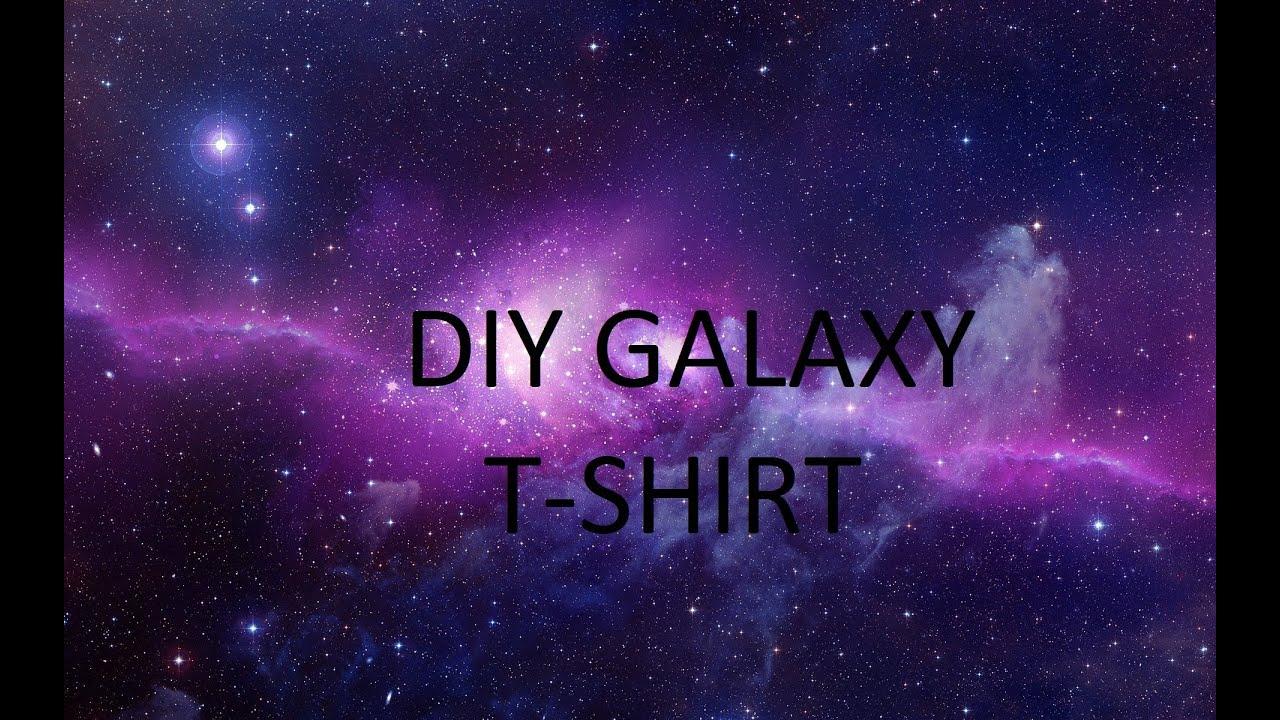 Design t shirt galaxy - Diy Galaxy Cross T Shirt Design