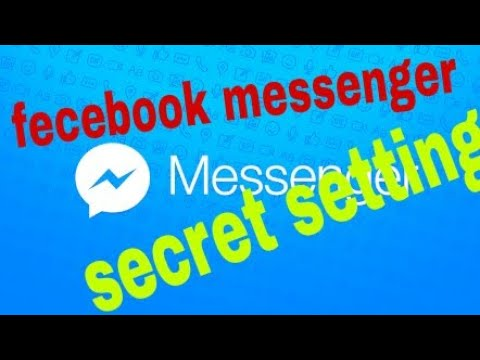 Messenger Secret Setting In Facebook