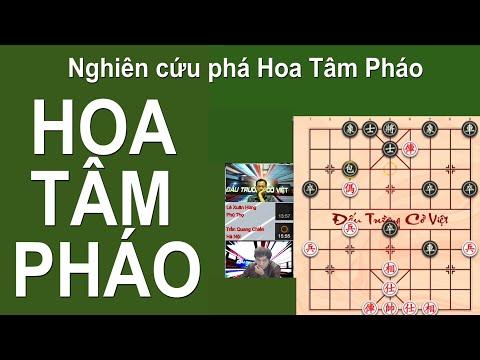 #cotuong Hoa Tâm Pháo Tăng Sức Mạnh Lê Xuân Hùng & Trần Quang Chiến