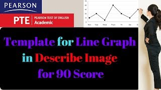 PTE Describe Image Template for Line Charts by 90 Scorer
