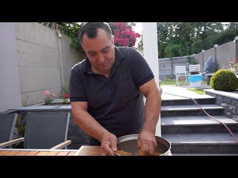 Сациви-соус грузинской кухни из индейки