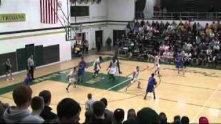 2011 Iowa Boys Sub State Davenport Central @ Iowa CIty West 2-25-2011 2nd quarter