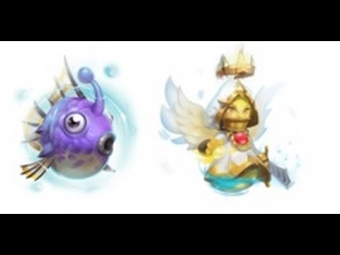 Castle Clash Pets Im Test | Bubblow Und Mini Angi |
