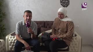 لقاء الطالبة ازهار ناصر شناعة الفرع العلمي