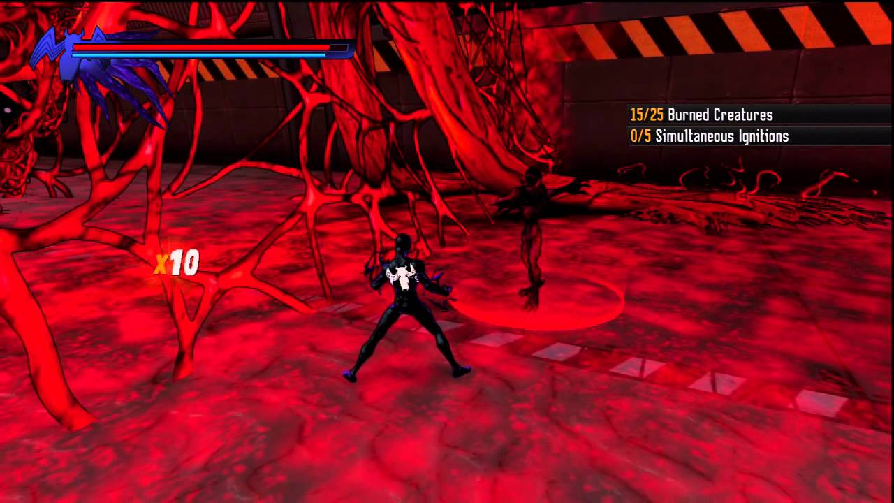 spiderman shattered dimensions ps3 carnage youtube