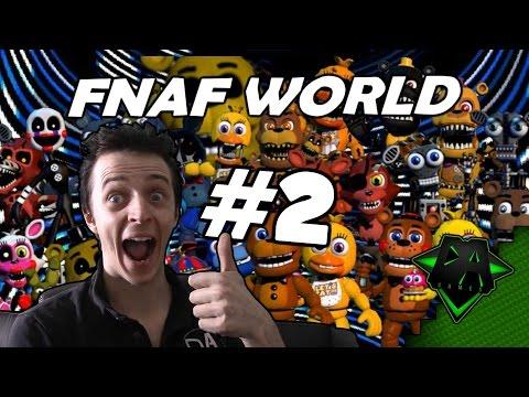FNAF WORLD (EASY MODE) #2 - DAGames
