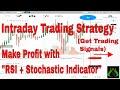 "Stock Market Intraday Trading Strategy (Heiken ashi+""RSI"" & ""Stochastic Indicator"")in Hindi #18"