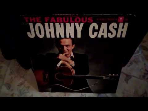The Fabulous JOHNNY CASH - vintage 1958 Mono LP on Columbia Records. VINYL COMMUNITY