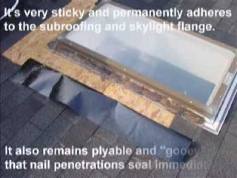 Home Restorations Skylight Repair Tips, How to Repair a Skylight Leak,  Skylight Waterproofing Tricks - YouTube