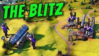 The Blitz - Civilization 6 Gathering Storm Deity Part 17
